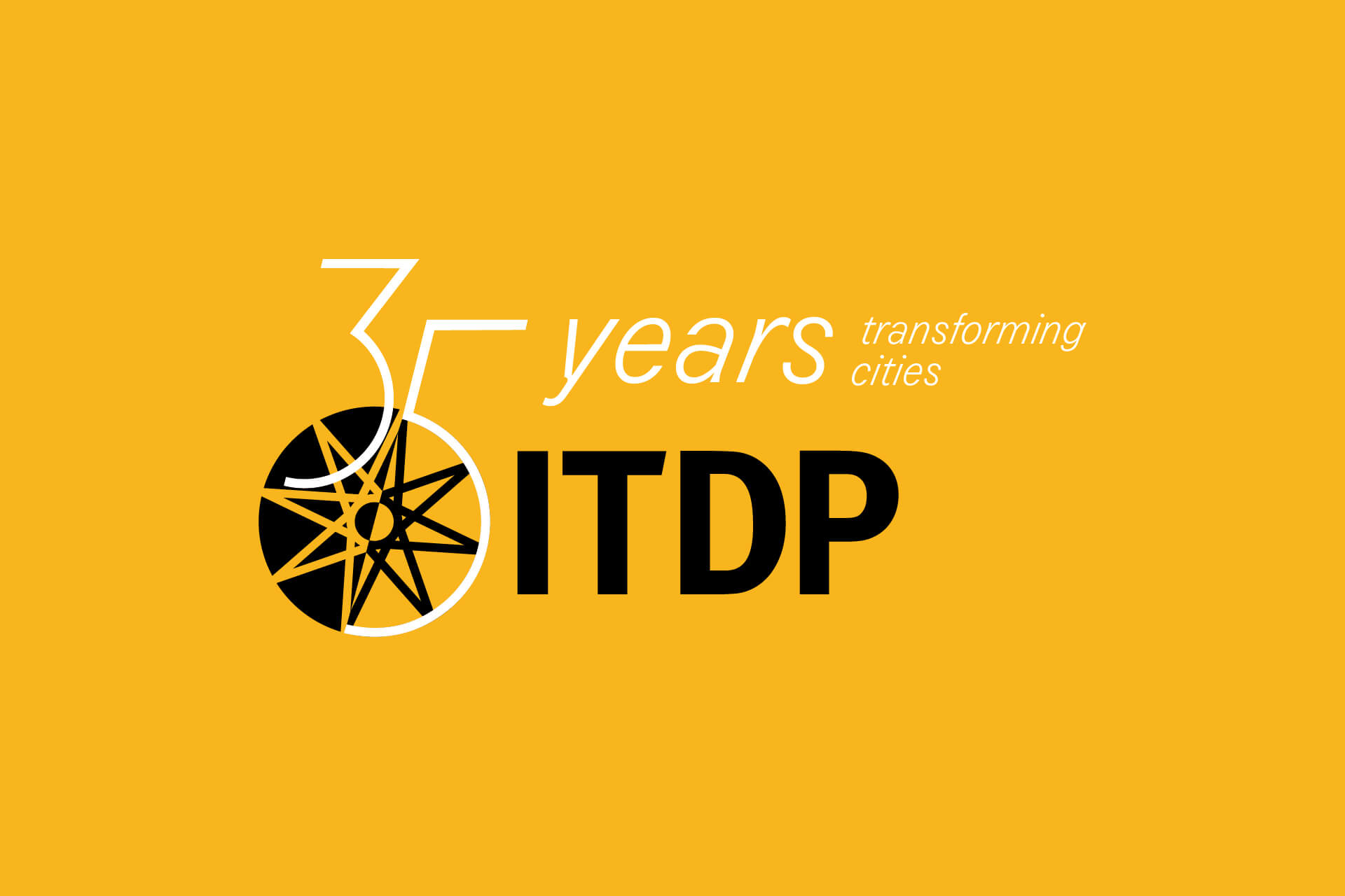 ITDP 35 Years Logo + Animations